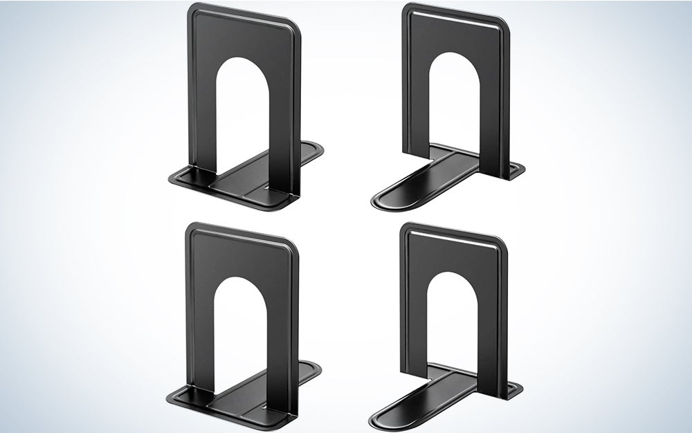 MaxGear Book Ends Universal Premium Bookends for Shelves