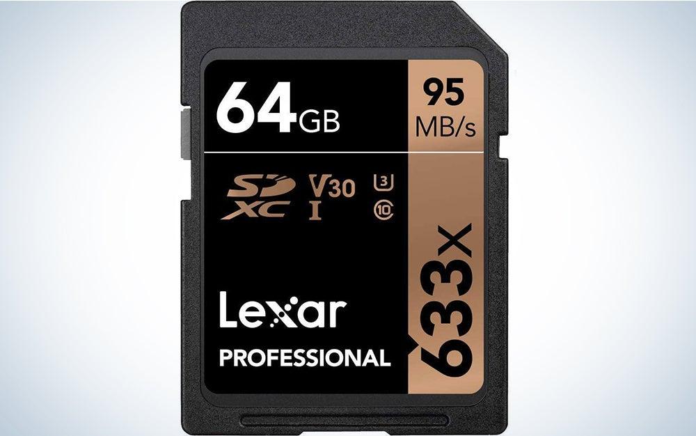 Lexar Professional 633x 64GB SDXC UHS-I Card