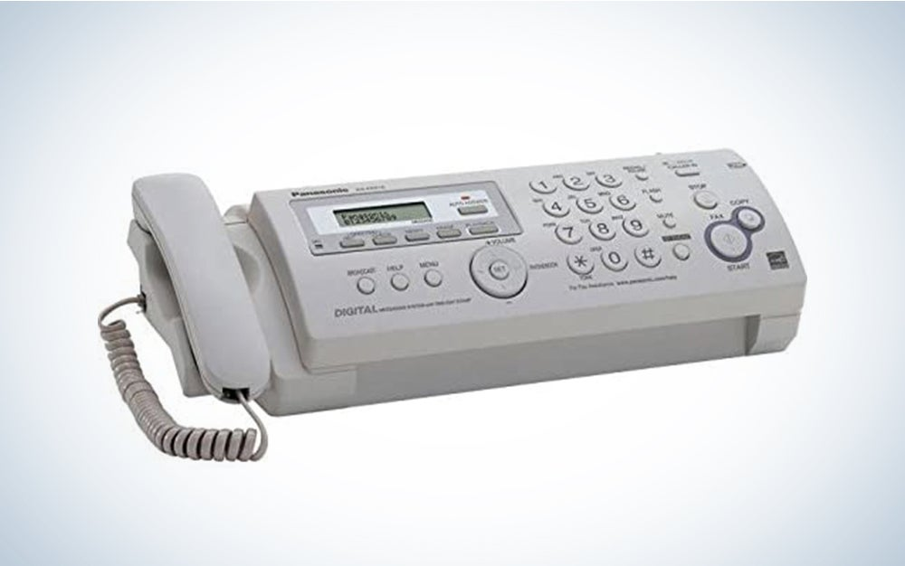 Panasonic Plain Paper Fax/copier- Ultra-compact design