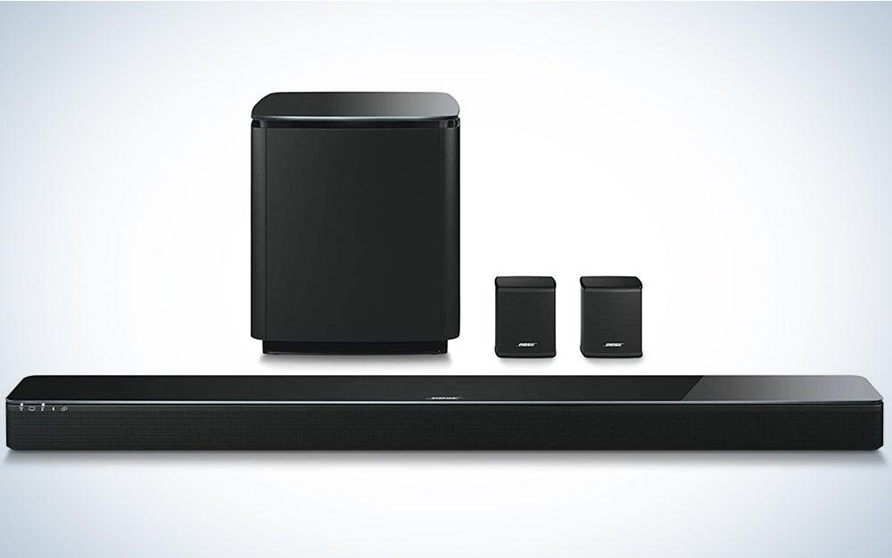 Bose 5.1 Home Theater Set (Black): Soundbar 500 + Bass 500 + Surround Speakers