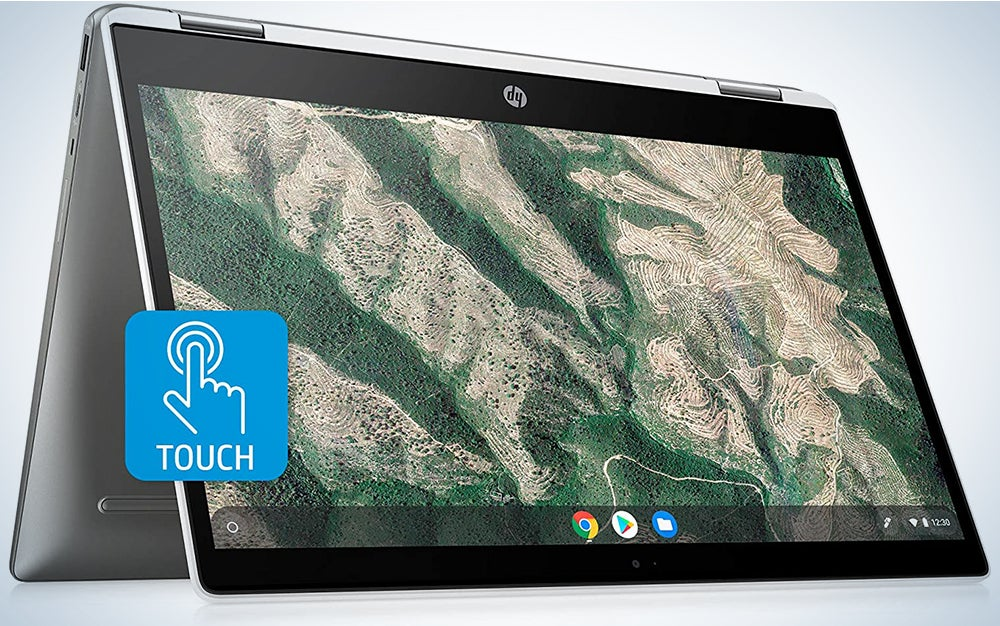 HP Chromebook Touch Screen Laptop