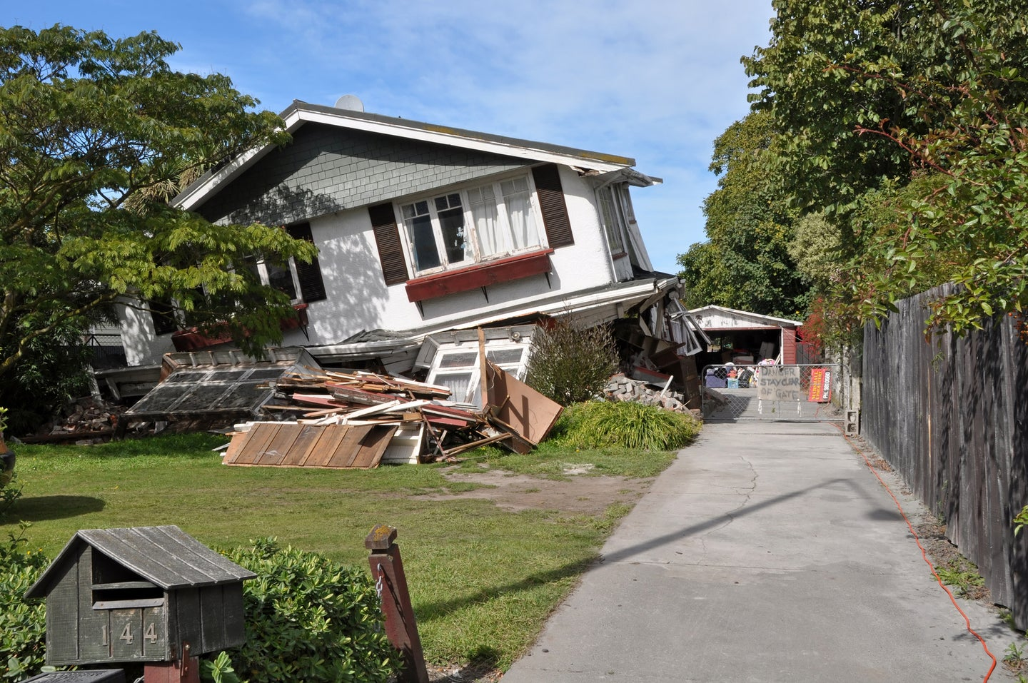 A 7.1 magnitude earthquake in Christchurch, New Zealand, destroyed homes and lives.