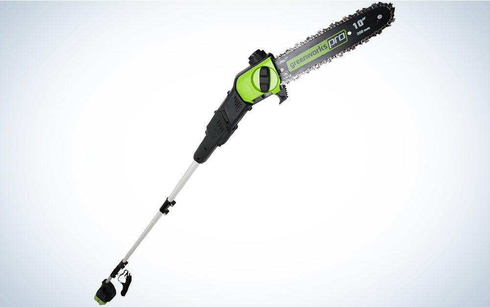 Greenworks PRO 80V 10-inch Cordless Pole Saw