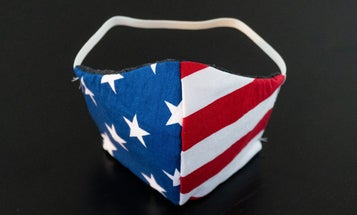 Wearing a face mask is patriotic