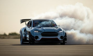This 1400-horsepower Mustang Mach-E foreshadows Ford's electric car future
