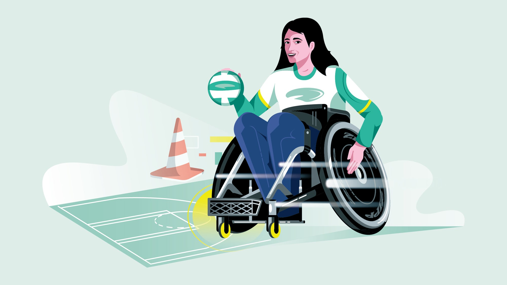 Paralympic wheelchair