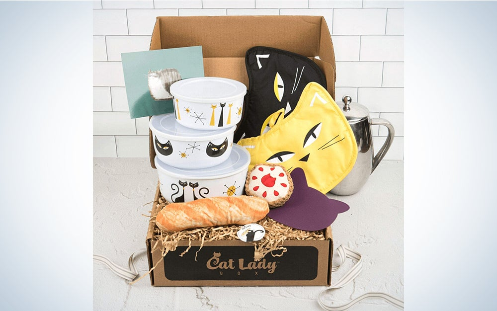 CatLadyBox - Subscription Box for Cat Ladies and Cats