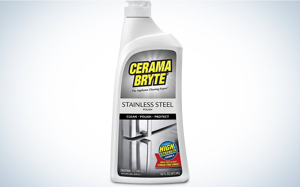 Cerama Bryte Protective Stainless Steel Cleaning Polish