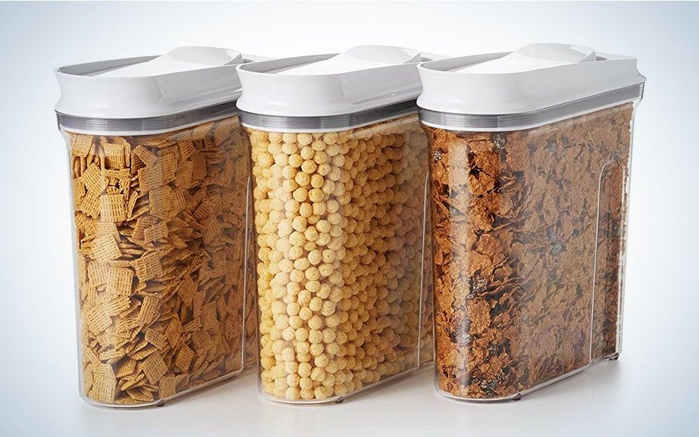 OXO Good Grips 3-Piece Airtight POP Cereal Dispenser