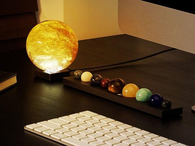DeskSpace planetary system