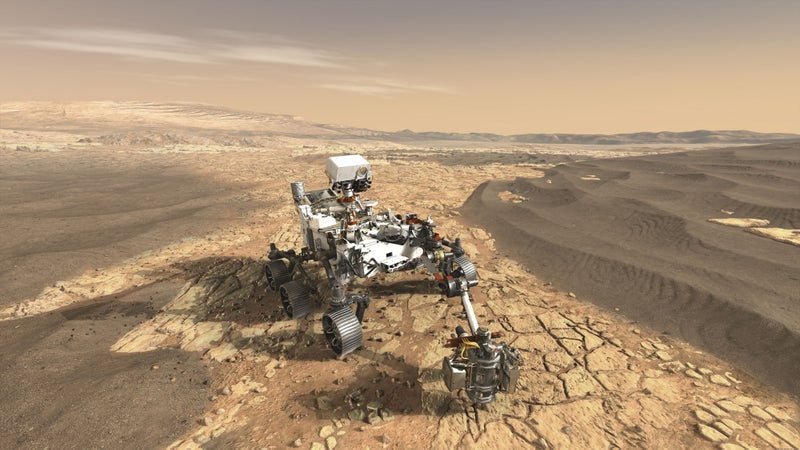 11 eye-opening images from NASA's Mars missions