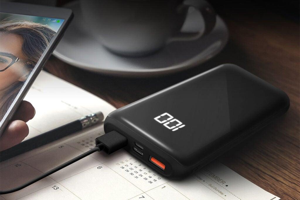 HyperGear Dual USB + USB-C Digital Power Bank