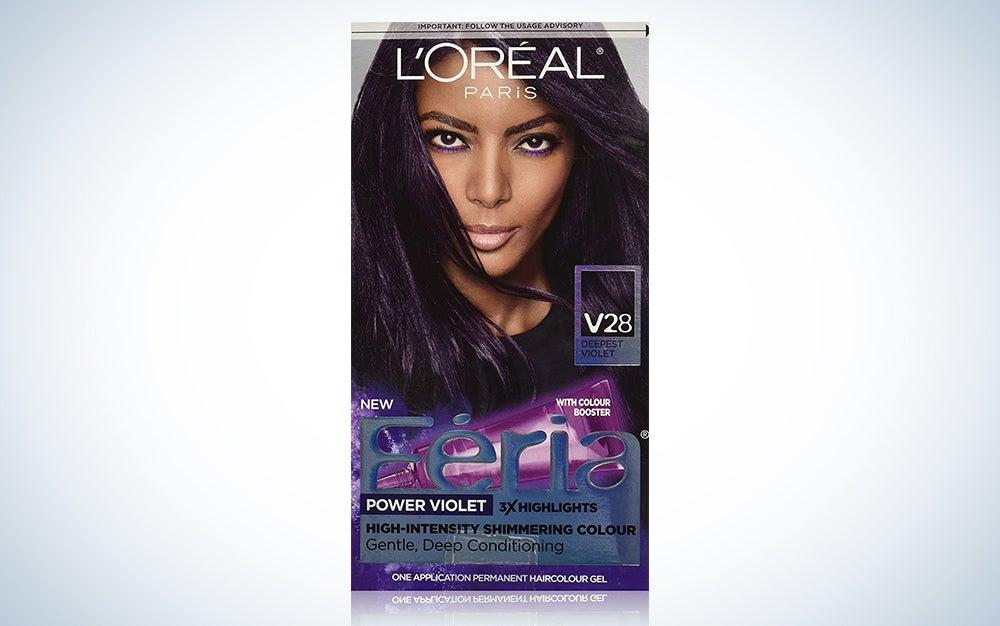 L'Oreal Paris Feria Multi-Faceted Shimmering Permanent Hair Color