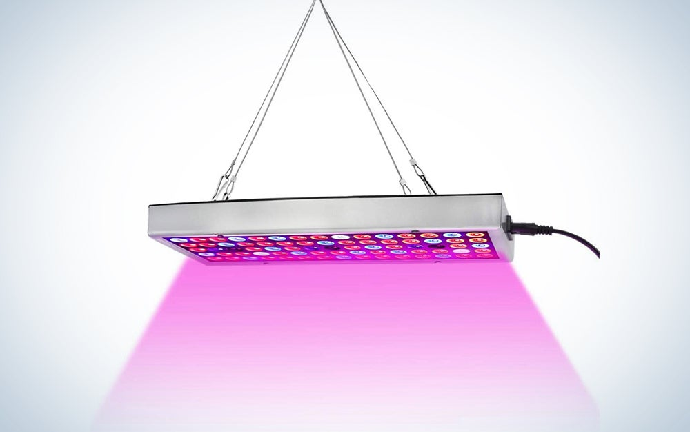 Juhefa LED Grow Lights, Full Spectrum Panel Grow Lamp with IR & UV LED Plant