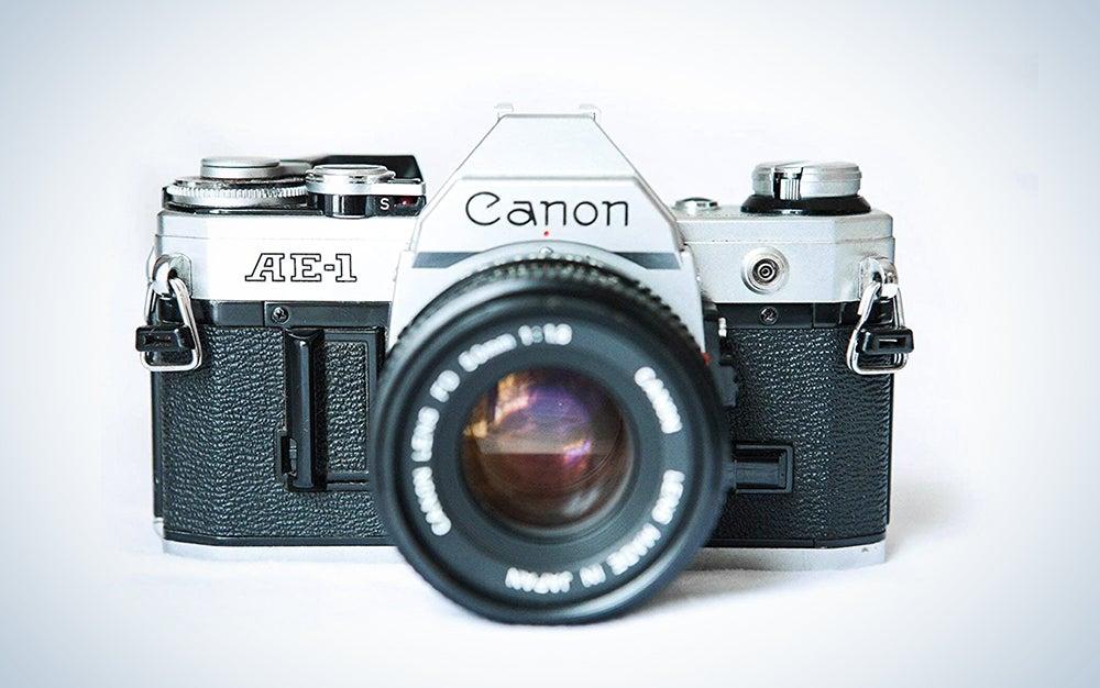 Canon AE-1 35mm Film Camera w/ 50mm 1:1.8 Lens