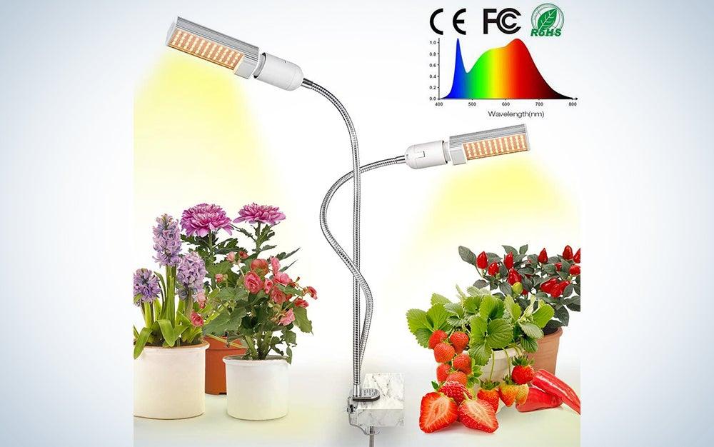Relassy 15000Lux Sun-like Full Spectrum Grow Lamp