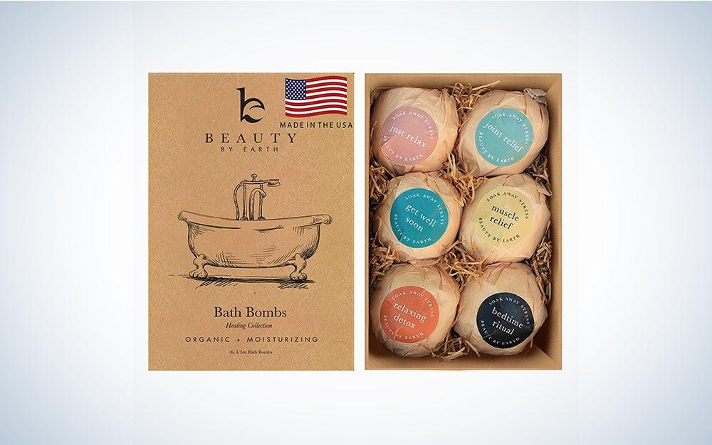 Beauty by Earth Bath Bombs