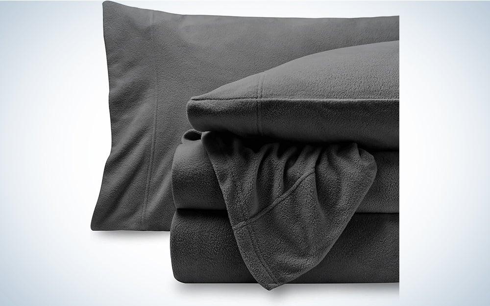 Bare Home Super Soft Fleece Sheet Set - Queen Size - Extra Plush Polar Fleece, Pill-Resistant Bed Sheets - All Season Cozy Warmth, Breathable & Hypoallergenic