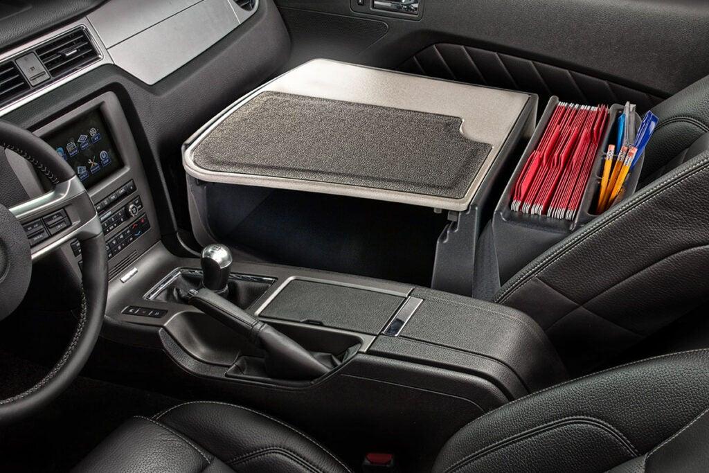 Efficiency GripMaster Car Desk & Organizer