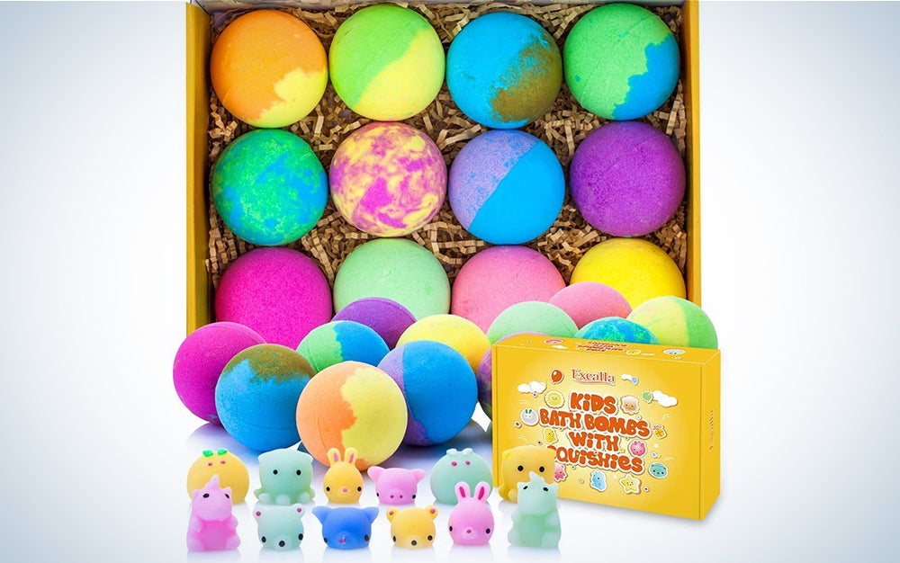 Excalla Bath Bombs for Kids