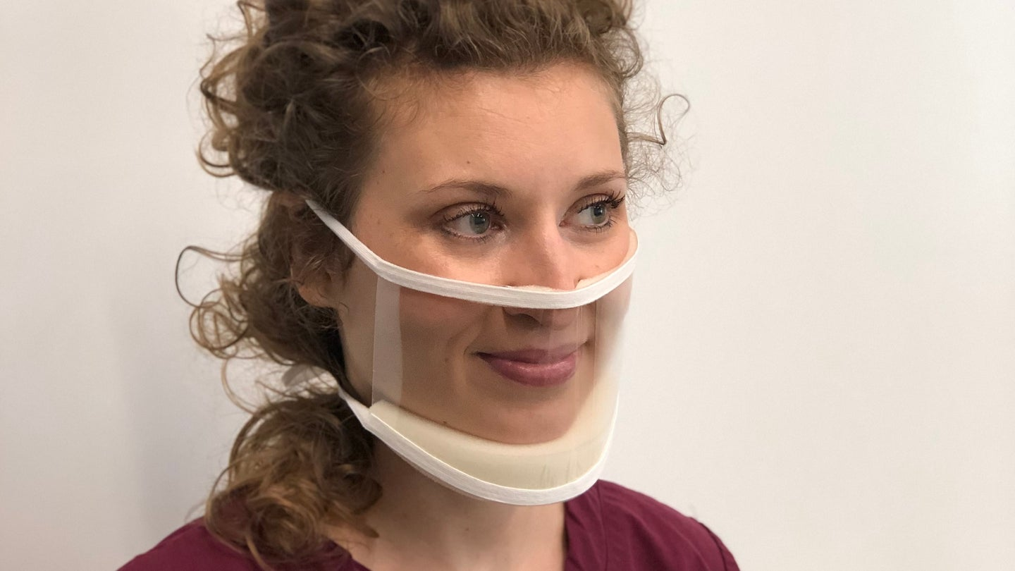 Founded in 2017, ClearMask makes plastic face guards for surgeons and other medical practitioners. Now it's turning its attention to pandemic equipment.