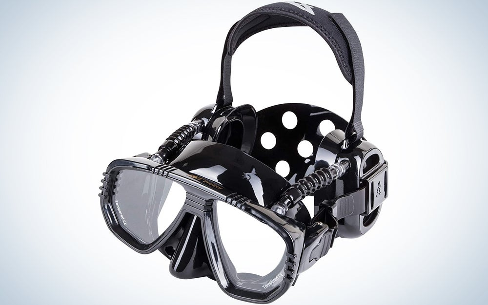 IST ProEar Scuba Diving Mask with Watertight Ear Covers
