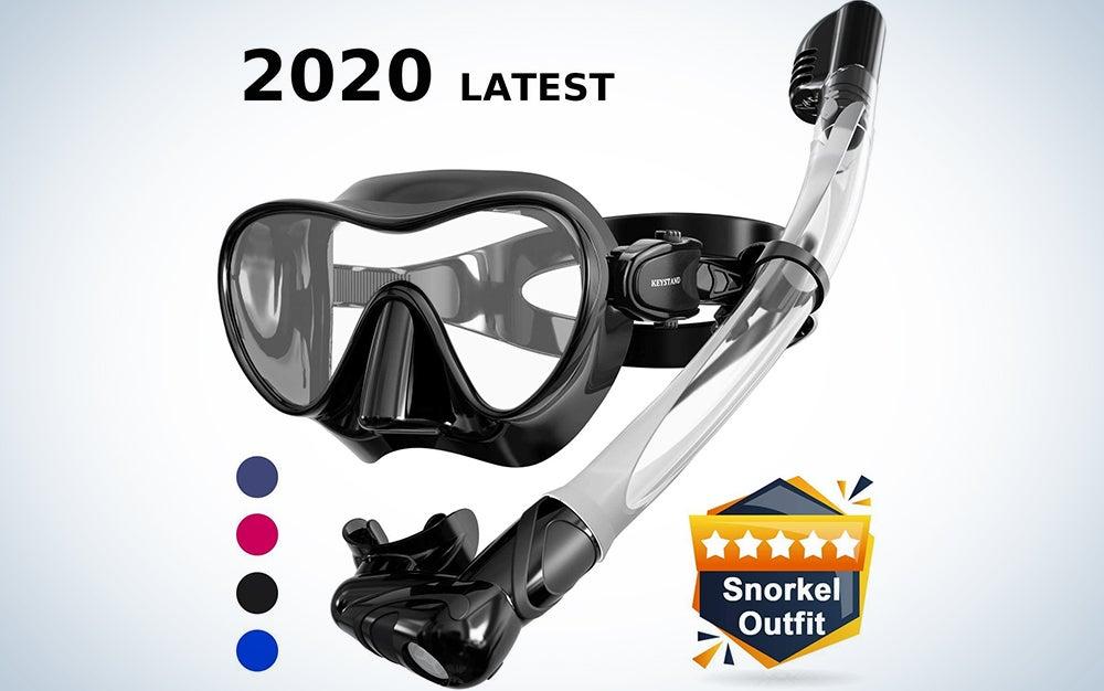 Keystand Scuba Mask and Snorkel Set