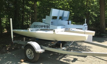 This DIY-er found a boat he liked in the PopSci archives. Then he built it.