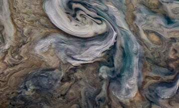 Ammonia 'mushballs' could spark strange lightning on Jupiter