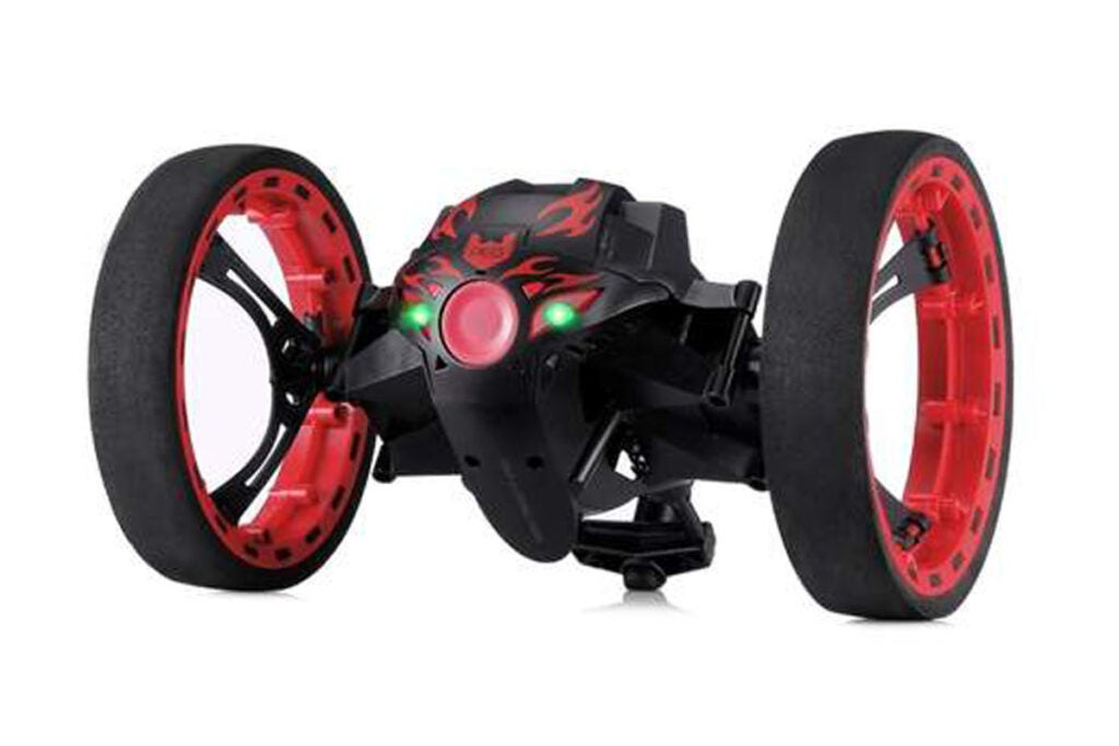 Remote Control 2-Wheeled Jump Car Toy
