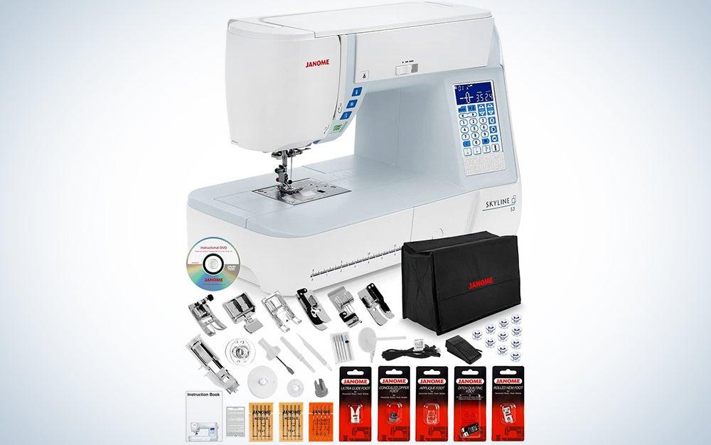 Janome Skyline S3 Computerized Sewing Machine