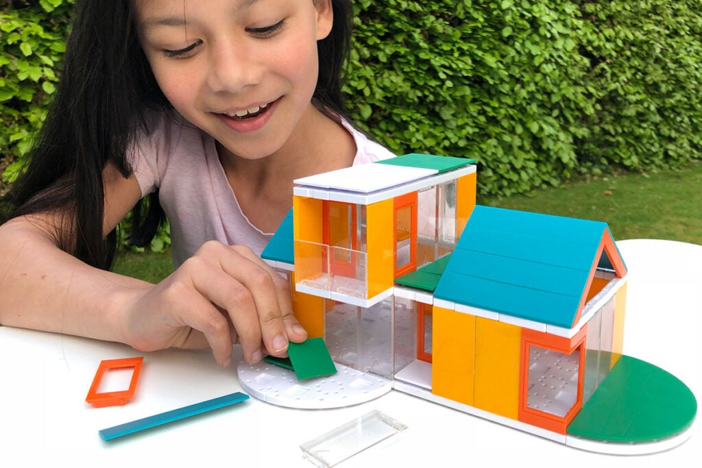 Go Colors 2.0 Architect Scale Model House Building Kit for Kids