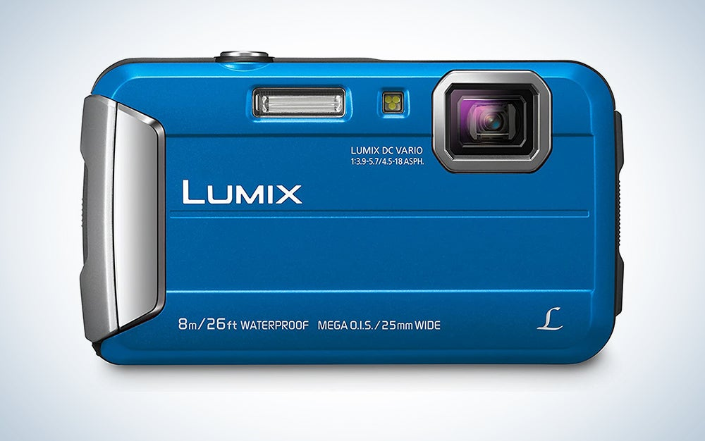Panasonic Lumix Waterproof Digital Camera Underwater Camcorder with Optical Image Stabilizer