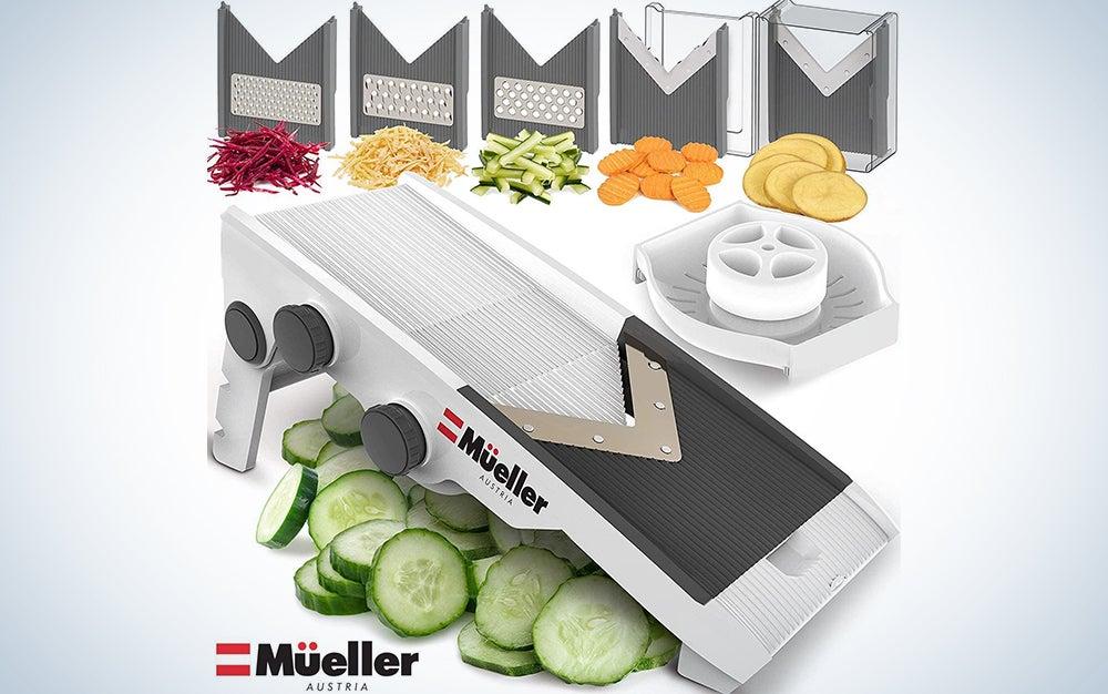 Mueller Austria Premium Quality V-Pro Multi Blade Adjustable Mandoline