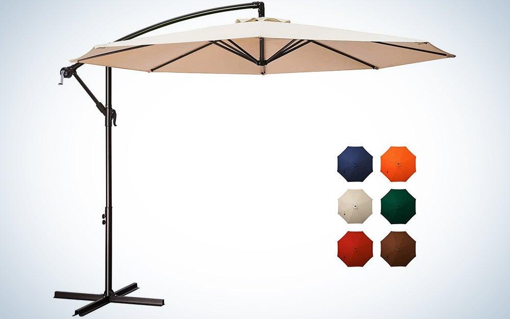 Meway 10-Foot Outdoor Umbrella