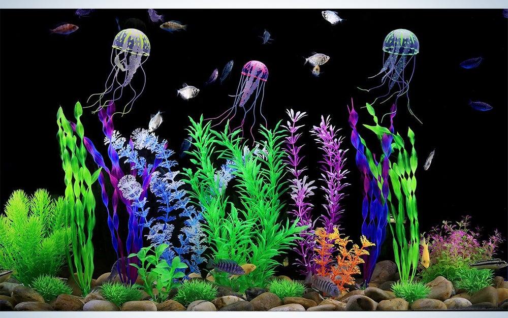 CousDuoBe Large Aquarium Plants