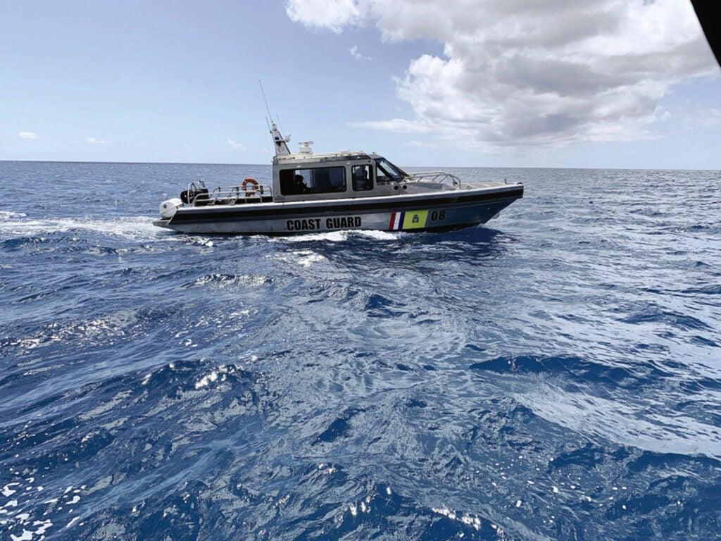 St. Maarten patrol boat