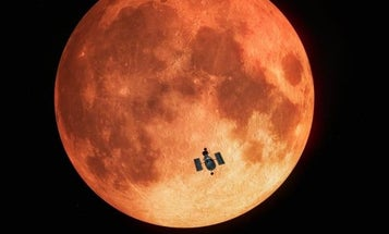 Hubble just captured a lunar eclipse for the first time ever