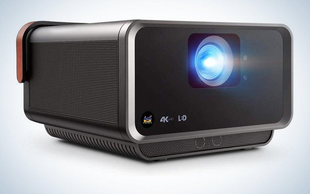 ViewSonic X10-4KE True 4K UHD Short Throw LED Portable Smart Wi-Fi Home Theater Projector