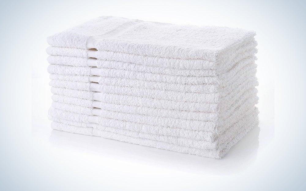 Simpli-Magic White Hand Towels
