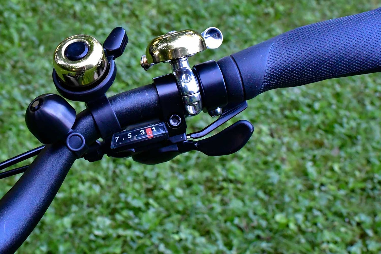 Spurcycle Compact Bell, Incredibell Brass Duet, and Linus Sidestricker
