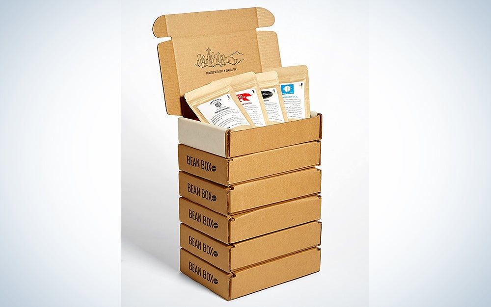 Bean Box Coffee Sampler Subscription