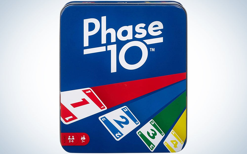 Phase 10 Card Game with 108 Cards, Makes a Great Gift for Kids, Family or Adult Game Night