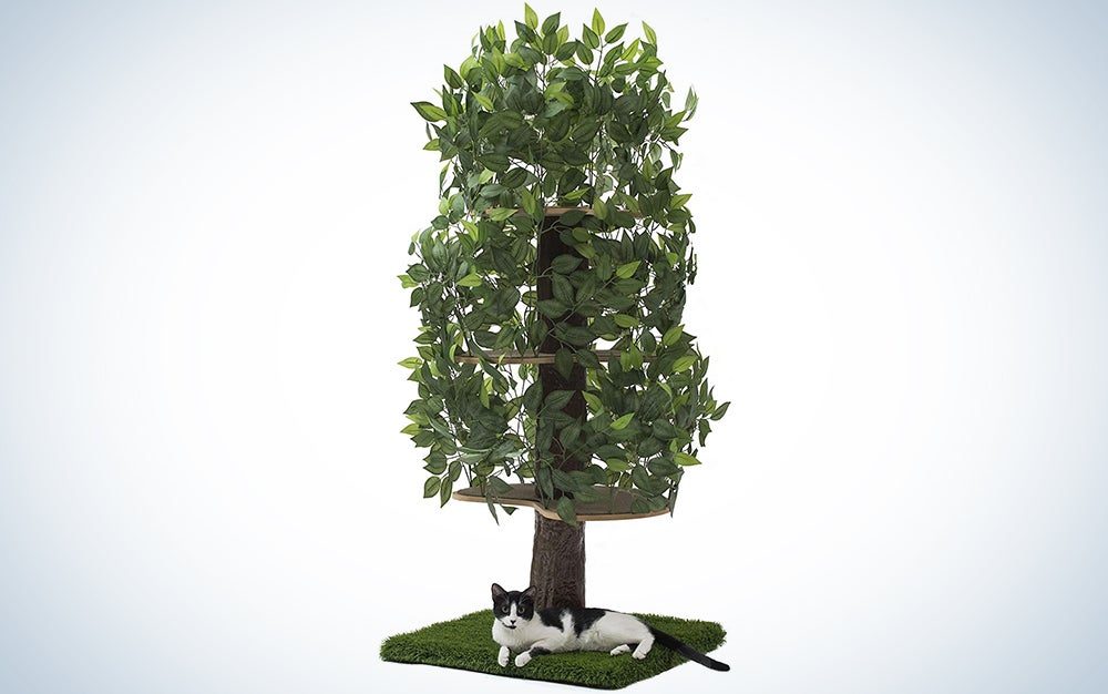 On2Pets Cat Condo Furniture, Tree House Tower