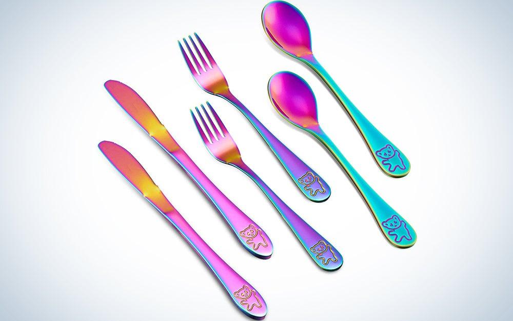 Rainbow Cutlery Kids Set