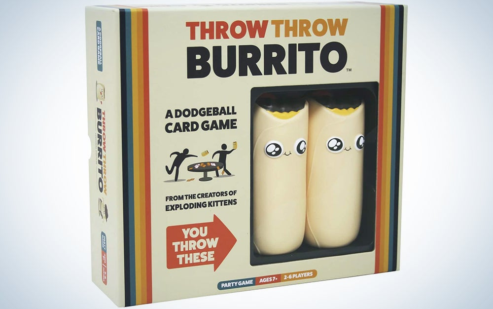 Throw Throw Burrito by Exploding Kittens - A Dodgeball Card Game