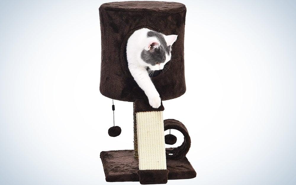 AmazonBasics Cat Tree Tower With Perch Condo