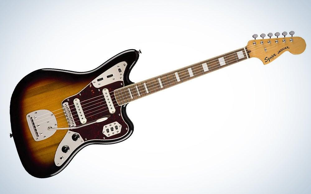 Squier by Fender Classic Vibe 70′s Jaguar Electric Guitar