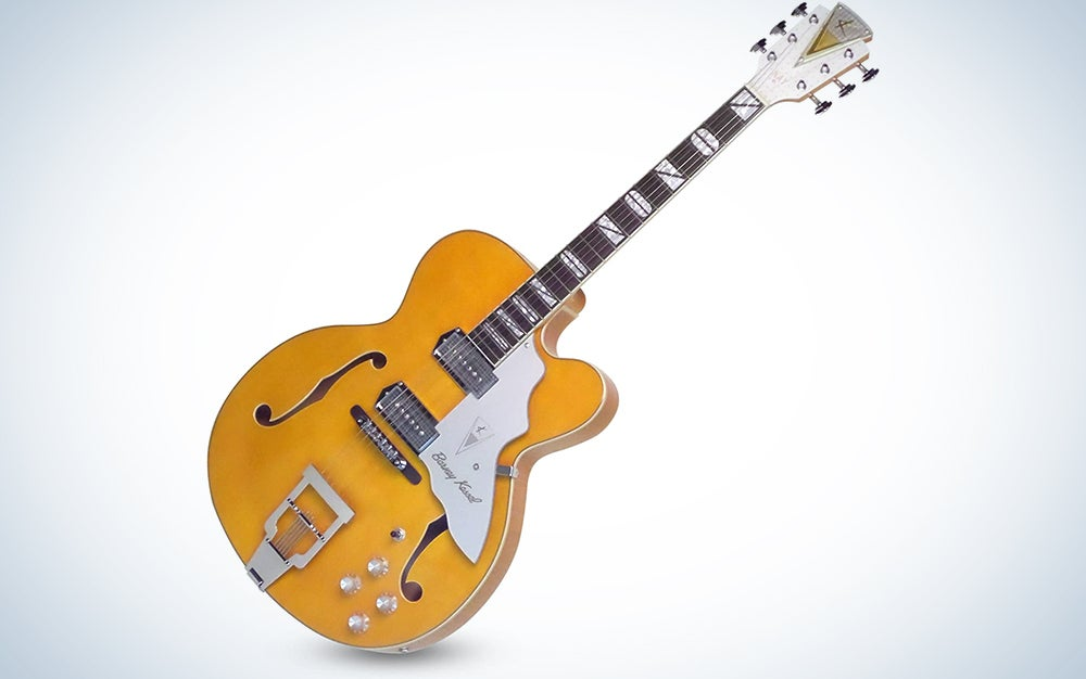 """Kay Reissue 1957 Barney Kessel """"Jazz Special"""" Electric Guitar Limited Production Signature Edition & Case"""