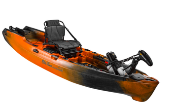 This motorized kayak can drive itself